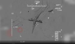 ویدئویی جدید و واضح از نفوذ سپاه به مرکز کنترل فرماندهی ارتش آمریکا /چرا آمریکاییها پهپاد خود را بمباران کردند؟