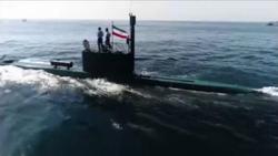 رونمایی از زیردریایی و ناوشکن بومی ارتش در رزمایش «ولایت ۹۷» + فیلم