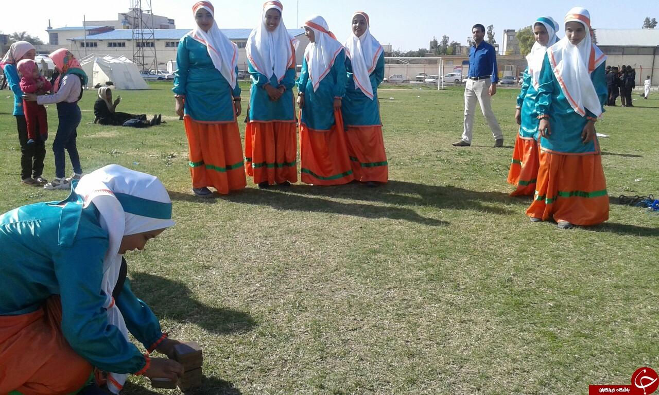 جیرفت میزبان جشنواره المپیاد ورزشی روستایی جنوب و شرق استان کرمان + تصاویر