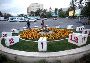 ساعت گل شیراز  نوروز ۹۸ بازسازی میشود