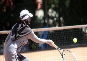 مسابقات تنیس بانوان به مناسبت روز زن