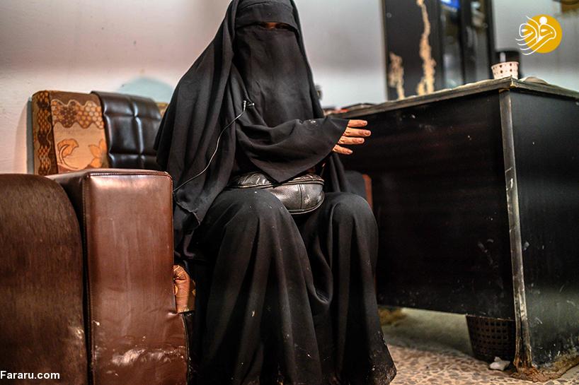اعترافات مادمازل چشم آبی داعش/ از زد و بند با قاچاقی انسان تا ادعای انسانست و تظاهر به بیگناهی + تصاویر