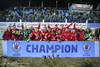 فینال رقابتهای فوتبال ساحلی جام باشگاههای اورآسیا ۲۰۱۸ در یزد