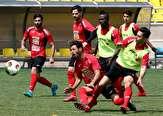 باشگاه خبرنگاران -تمرین سرخپوشان پیش از سفر به اصفهان برگزار شد