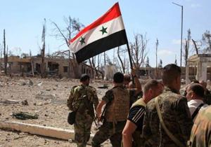 باشگاه خبرنگاران -ارتش سوریه یک نفربر بمبگذاری شده داعش را با موشک هدایتشونده هدف قرار داد