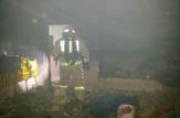 باشگاه خبرنگاران -مهار آتش سوزی در یک مرغ فروشی + تصاویر