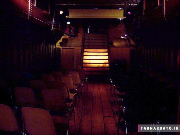 نامتعارفترین سالن های سینما در جهان