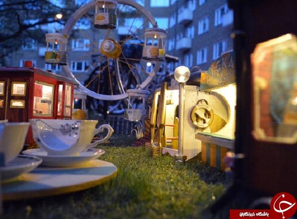 رستورانی برای موشها+ تصاویر