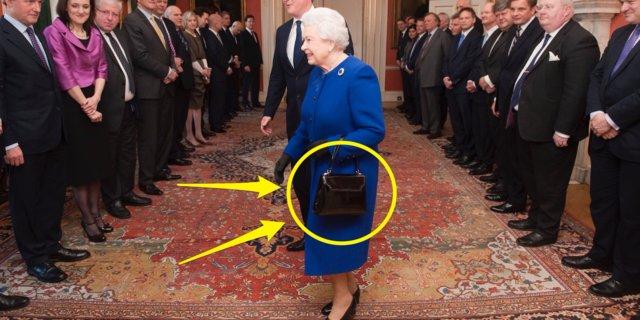 چه رمز و رازهایی در کیف ملکه انگلستان نهفته است؟+فیلم