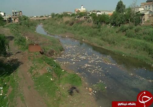 Image result for زباله در گرگان رود
