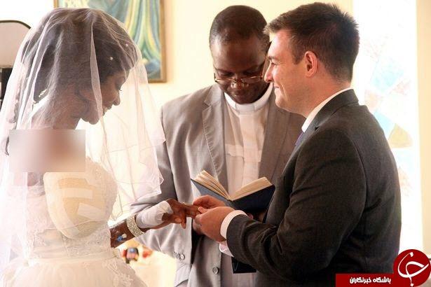 دست راست عروس، توسط کروکودیل قطع شد! تصاویر