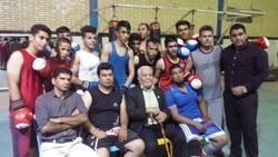درگذشت پدر بوکس ایران