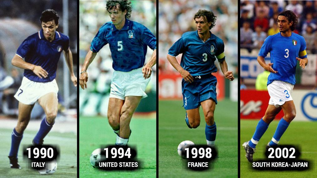 تغییر چهره ستاره های فوتبال جهان در ادوار جام جهانی+عکس