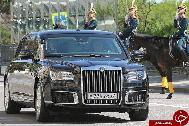 خصوصیات جالب ماشین جدید پوتین +تصاویر