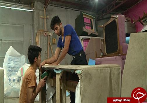 چرخاندن چرخه تولید در کارگاه تولید مبل عطا آباد / عطا آباد روستایی در شرق آق قلا مصداق یک تیر و دو نشان