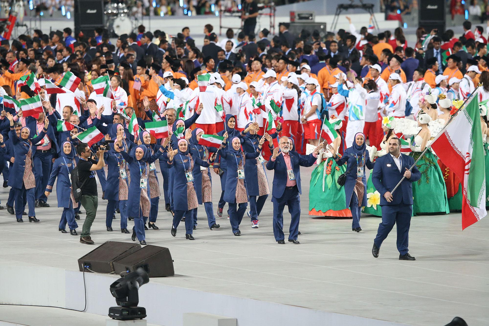 //در حال تکمیل //کار نشود//نگاهی به عملکرد کاروان ایران در هفده دوره بازیهای آسیایی