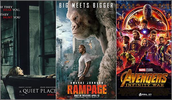 پرفروشترین فیلمهای جهان در هفته جاری (6 می 2018)