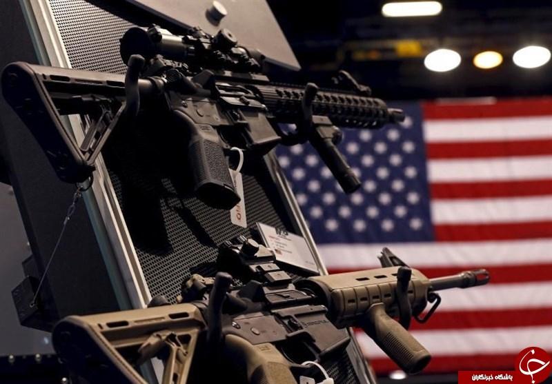 دستیابی آسان کودکان و نوجوانان به سلاح در آمریکا+ تصاویر