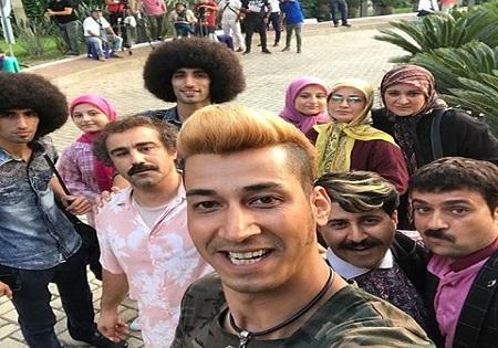 بهرام افشاری بازیگر سریال «پایتخت»