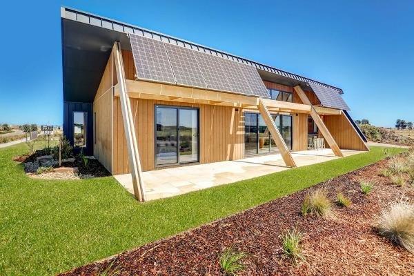 خانه استرالیایی حافظ محیط زیست ساخته شد
