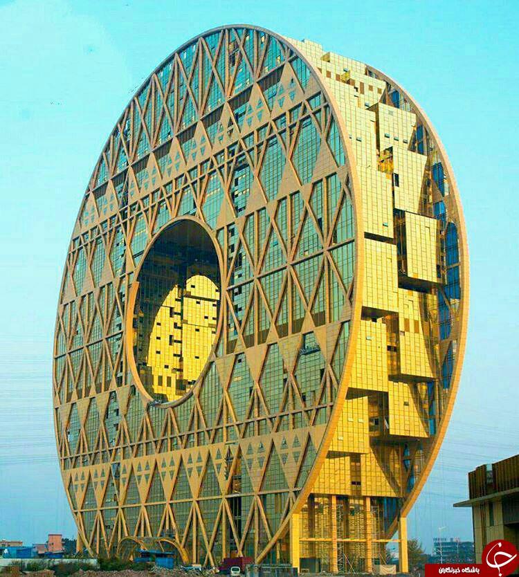 یکی از عجیب ترین بناهای جهان! +عکس