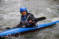 مسابقات انتخابی تیم ملی بانوان قایقرانی اسلالوم آبهای خروشان