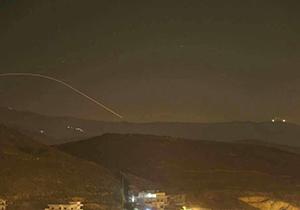 لحظه ورود موشکهای از خاک سوریه به منطقه جولان + فیلم