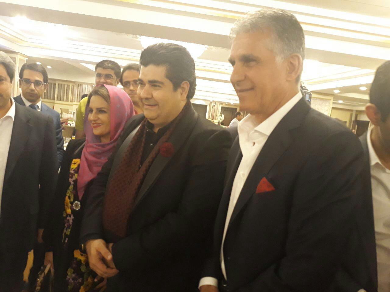 مراسم رونمایی از لباس تیم ملی برگزار شد