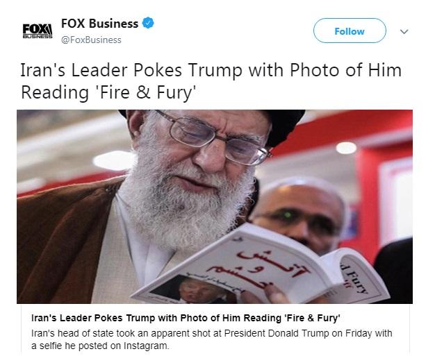 بازتاب عکس اینستاگرام رهبر انقلاب در رسانههای آمریکایی