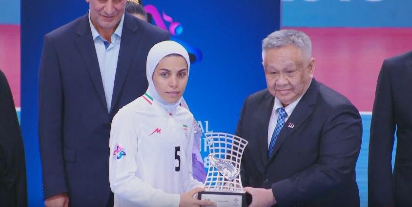 تیم ملی ایران ۵ - ژاپن ۲ / بانوان فوتسال کشورمان بر بام آسیا ایستادند