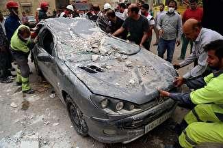 انفجار یک مجتمع مسکونی در اهواز