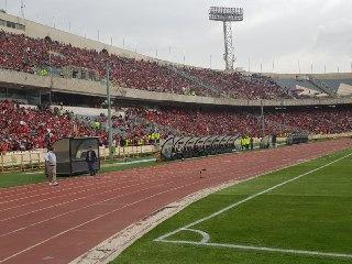 حاشیه های پیش از دیدار تیم های پرسپولیس و الجزیره + تصاویر