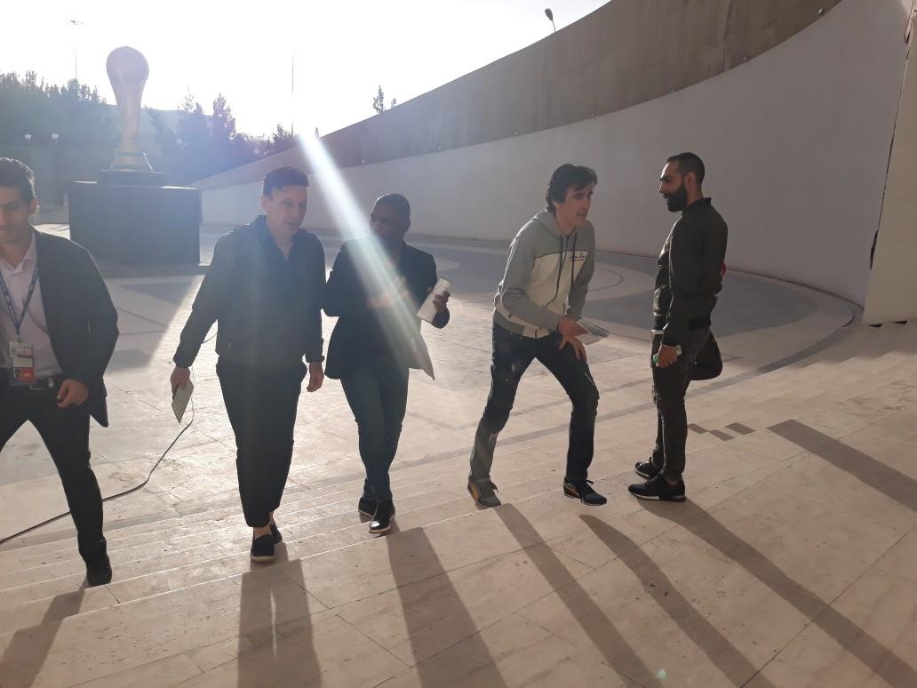حاشیههای پیش از دیدار تیمهای پرسپولیس و الجزیره + تصاویر