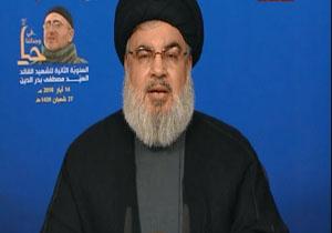 سخنرانی دبیر کل حزبالله لبنان در سالروز اشغال فلسطین