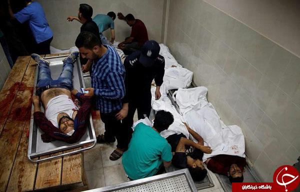قتلعام فلسطینیان در غزه همزمان با افتتاح سفارت آمریکا در قدس اشغالی+تصاویر