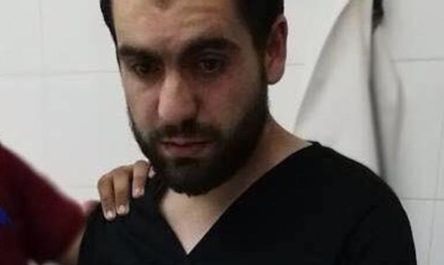 صحنه ای تکان دهنده که پزشک فلسطینی را در خود فرو ریخت+تصاویر