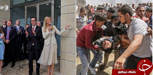 سلاخی کودکان فلسطینی و لبخند ایوانکا ترامپ+ تصاویر