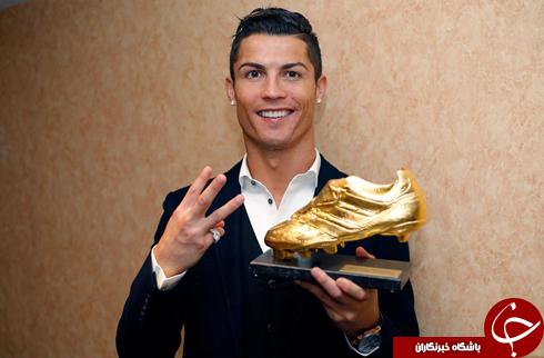 مسی، رونالدو و رابطه کفش طلا و توپ طلا!+ تصاویر