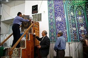 غبار روبی ۶۰ مسجددر زرندیه