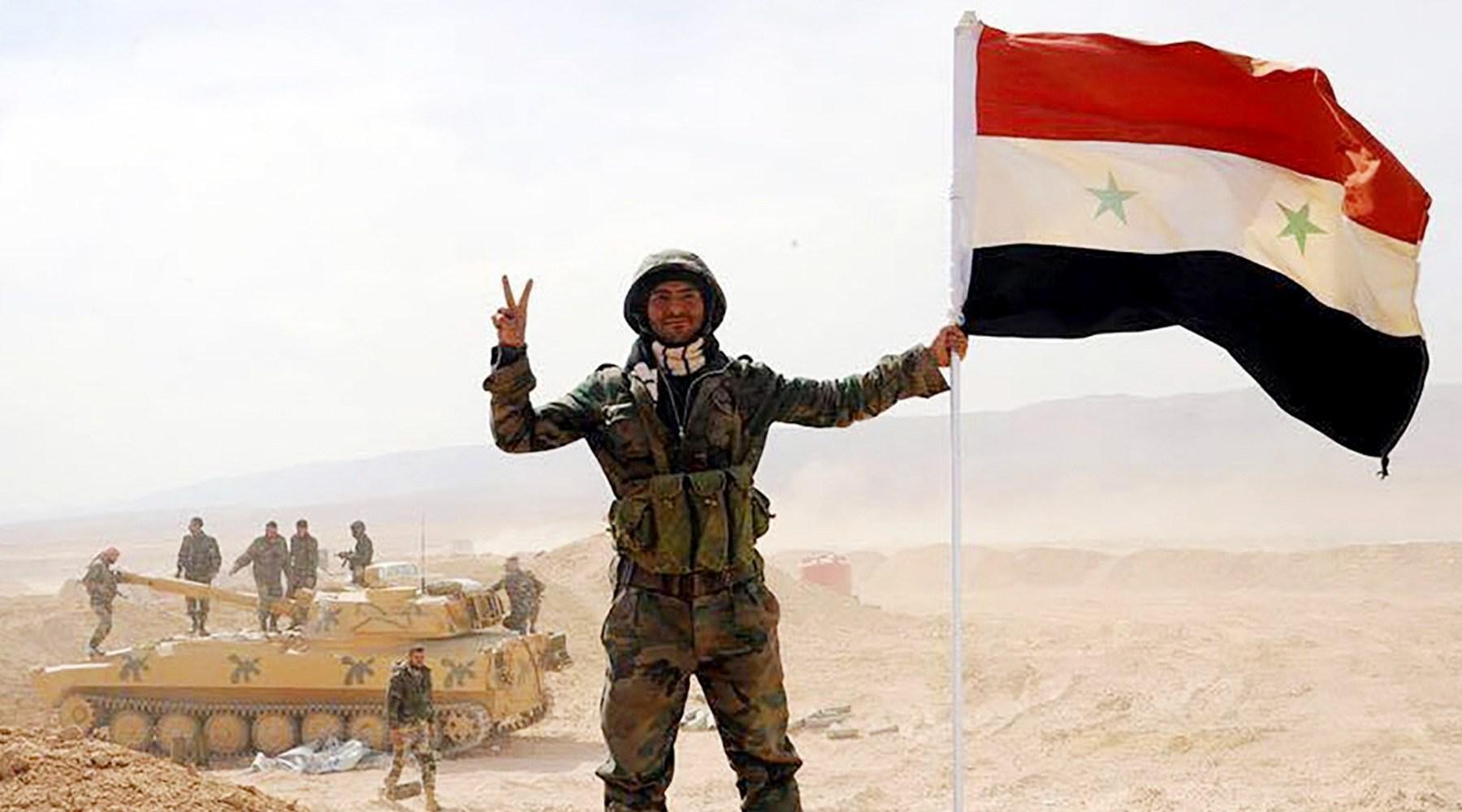 آغاز بزرگترین حمله نیروهای روس به داعش در جنوب دمشق