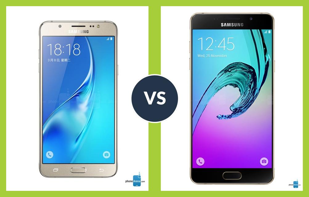 مقایسه قیمت دو گوشی سامسونگ J7  و A5