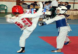 قهرمانی دانش آموز قروه در مسابقات تکواندو استان