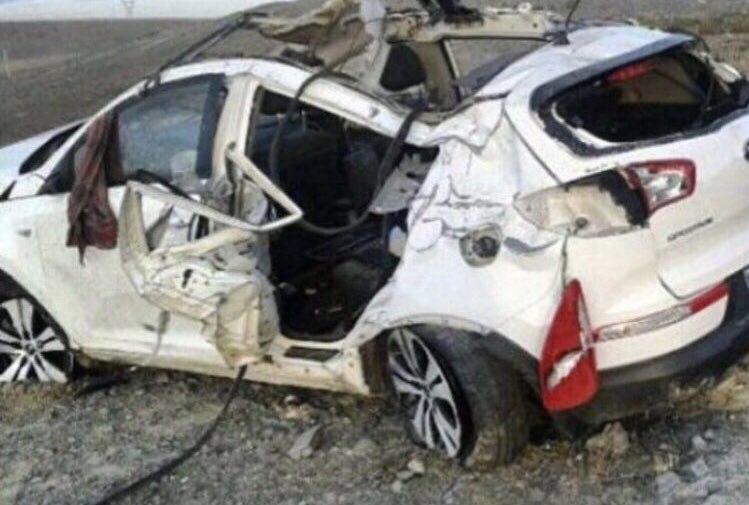 خودرو سرمربی کاراته دچار سانحه شد