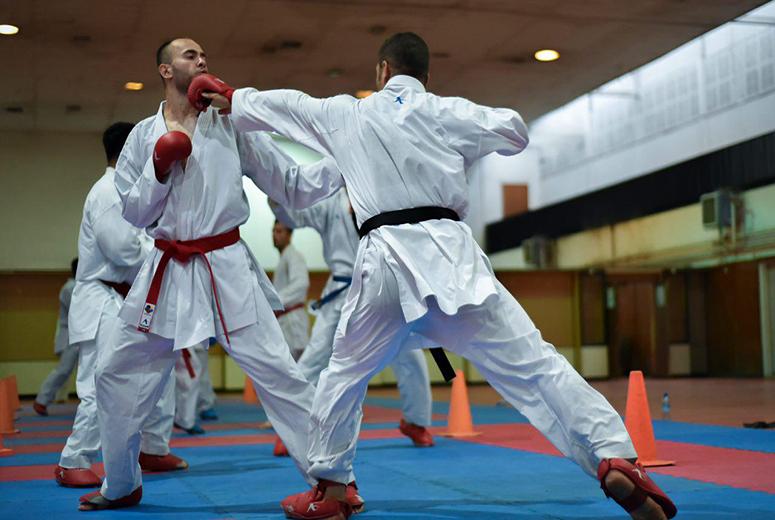 آغاز چهارمین مرحله اردوی تیم ملی کاراته مردان بزرگسال