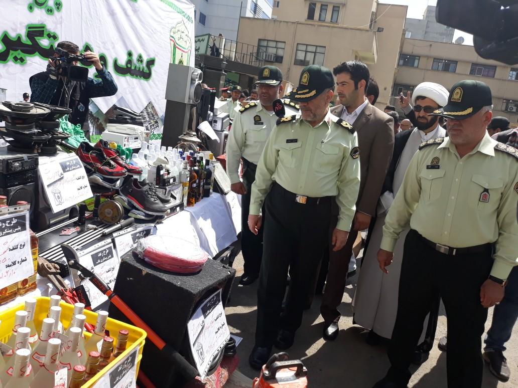 اطلاعی از پرونده افشانی و همسرش ندارم/ دستگیری ۵۴۶ نفر از سارقین در طرح رعد ۱۱