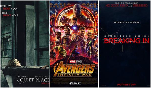 پرفروشترین فیلمهای جهان در هفته جاری (17 می 2018)