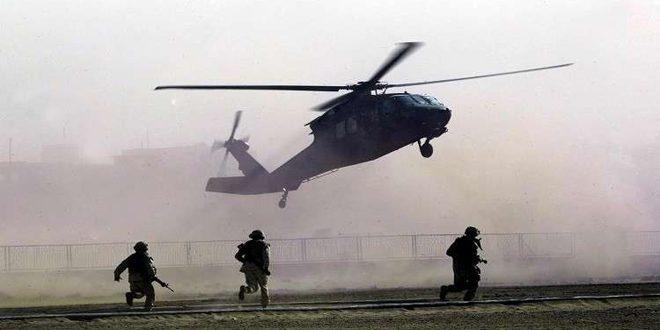 بالگردهای آمریکایی عناصر تروریستهای داعش در سوریه را به مکانی نامعلوم منتقل کردند