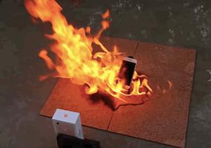 فیلم لحظه انفجار گوشی آیفون 6S!