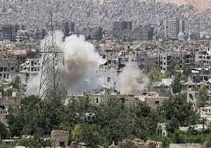 حمله خمپارهای گروههای تروریستی به دمشق ۲۱ کشته و زخمی برجای گذاشت