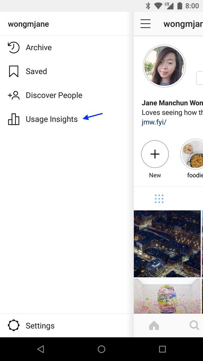 اینستاگرام زمان استفادهتان از این شبکهاجتماعی را به شما اطلاع میدهد